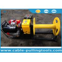 Buy cheap 3 Ton Diesel Engine Cable Pulling Winch for Stringing ABC Cable ISO from wholesalers