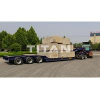 Buy cheap 100 ton - 150 ton 3 line 6 axles lowbed with 2 line 4 axles dolly by TITAN VEHICLE from wholesalers