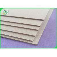 Buy cheap Recycle Grey Board Paper / 0.45 - 4mm Thickness Raw Material Grey Board Sheets from wholesalers