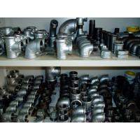 Buy cheap hot galvanized Malleable iron pipe fittings --beaded type from wholesalers