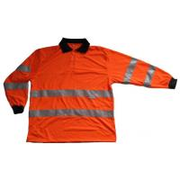 Buy cheap Hi Vis Safety Polo T-Shirt Long Sleeve from wholesalers