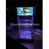 Buy cheap Led Lighting Commercial Tobacco Cigarette Display Showcase For Merchandising from wholesalers