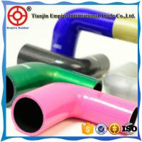 Buy cheap High temperature elbow 90 degree silicone rubber hose made in china from wholesalers