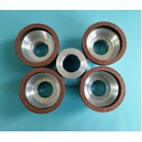 Buy cheap Small Diameter Resin Bonded Diamond Grinding Wheels Bowl Shape 50*20*20*5*5 product