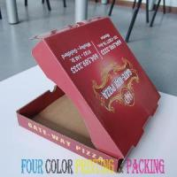 Buy cheap Corrugated Pizza Box (PZ-1024) from wholesalers