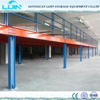 Buy cheap High Grade Steel Structure Mezzanine Floor Heavy Load Max 4000mm Beam Length from wholesalers