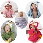 Buy cheap New Hooded Baby Bathrobe/Cartoon Baby Towel/Character kids bath Towel Beach Towel from wholesalers