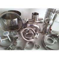 Buy cheap 304 316 Stainless Steel Pipe Fittings For Food Industry / Chemistry Industry from wholesalers