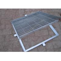 Buy cheap Hot Dipped Galvanized Steel Grating Perforated Metal Mesh 20mm-150mm Cross Bar Pitch from wholesalers