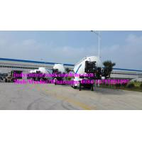 Buy cheap 40m3 Bulk Cement Tank Semi Trailer 3 Axles , Loading 30-35t Carbon Steel , 4-5mm Thickness from wholesalers