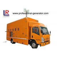Buy cheap 300kw Customized Truck Diesel Generator Set with Copper Winding Wire Brushless ISO from wholesalers