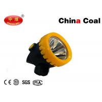 Buy cheap High Power LED Miner Cap Lamp 10000Lux 3Ah Roduct  Light Weight Push Button Operation from wholesalers