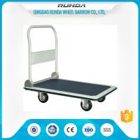 Buy cheap Foldable Platform Hand Truck PH300 300kgs Load Capacity Blue Color 4 Wheels from wholesalers