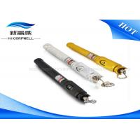 Buy cheap Black Leather Sheath Fibre Optic Test Pen Visual Fault Detector 2.5mm Connector from wholesalers