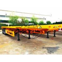 Buy cheap Two Axle Container Semi Trailer 12 Pcs Tire T700 Strong Steel Material from wholesalers