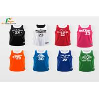 Buy cheap Tank Top Style CMYK Color Custom Team Sportswear / Jersey Basketball Uniform from wholesalers