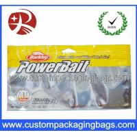Buy cheap Laminated Aluminum Foil Plastic Ziplock Bags For Fish Feed Packing With Window from wholesalers