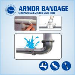 Buy cheap Fibre Polyethylene Fix Tape Bandage Repair Pipe Emergency Repair Leakage Pipeline from wholesalers