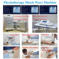Buy cheap Physiotherapy ESWT Pain Relief Shockwave Therapy Machine For Soft Tissue Scar from wholesalers