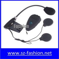 Buy cheap 500m motorcycle bluetooth interphone for 2 rider built-in FM radio from wholesalers