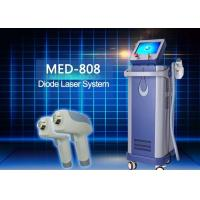 Buy cheap Med - 808 Portable Home Diode Laser Hair Removal Machine Lightweight Size from wholesalers