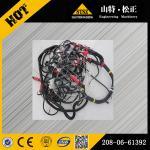 Buy cheap komatsu excavator PC400-6 wiring harness 208-06-61392 from wholesalers