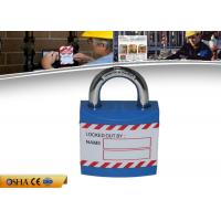 Buy cheap ZC-J01 Safety Lockout Padlocks Durable Non - Conductive Xenoy Lock Body from wholesalers