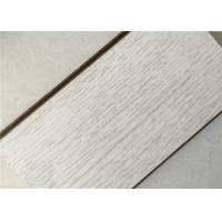 Buy cheap White Oak Engineered Hardwood Flooring With Small Embossed Finish Laminate Wood from wholesalers