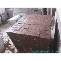 Buy cheap cheapest customer size red paving slabs for garden, street etc from wholesalers