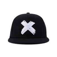 Buy cheap Six Panels 8cm Long Flat Brim Snapback Hats With Metal Buckle from wholesalers
