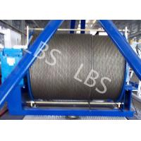 Buy cheap 20 Ton 50 Ton Electric Wire Rope Winch Steel Cable Industrial Electric Winch from wholesalers