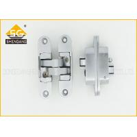 Buy cheap Zinc Alloy 3D Adjustable Invisible Door Hinges For Interior Door Thickness 30mm/40mm from wholesalers