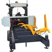 Buy cheap Woodworking Machinery Horizontal Portable Sawmill with Hydraulic Log Loading Arm from wholesalers