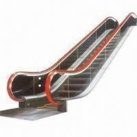 Buy cheap Escalator with 7.2m Maximum Rise and 10mm Tempered Glass Balustrade, Used for Indoor Applications from wholesalers