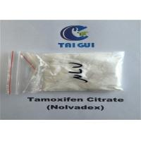 Buy cheap Tamoxifen Citrate / Nolvadex Crystalline Raw Steroid Powders Semi - Finshed Injection 20mg/ml from wholesalers