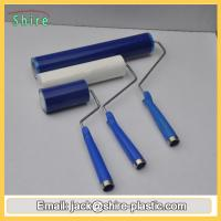 Buy cheap Blue Reusable Sticky Roller , High Anti Static Silicon Sticky Roller from wholesalers