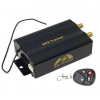 Buy cheap Remote Control Mini Car Vehicle Realtime Tracker for GSM GPRS GPS System Tracking Device from Wholesalers