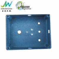 Buy cheap Stone Vibration Surface Die Cast Aluminium Box Drilling with Free Steel Stainless Screws product