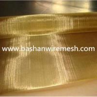 Buy cheap China steel mesh manufacturers Brass Wire Mesh 80/20 Brass copper wire mesh from wholesalers