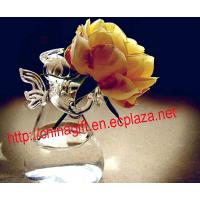 Buy cheap Angel Glass Flower Vase Hydroponic Pot from wholesalers
