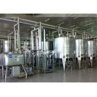 Buy cheap Turn Key Project Fresh Milk Processing Machine / Dairy Production Equipment with Pasteurization from wholesalers