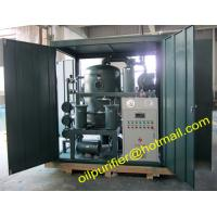 Buy cheap Skid Mounted Double Stage Vacuum Transformer Oil Purifier Machine for Power Station,with cover enclosure from wholesalers