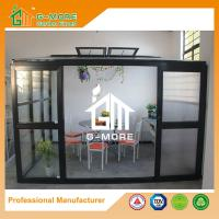 Buy cheap 320 X 283 X 275CM Dark Grey Color 8mm Thick Polycarbonate Aluminum Greenhouse from wholesalers