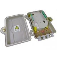 Buy cheap Indoor / Outdoor Fiber Optic Distribution Box 12 Core With SMC Material from wholesalers