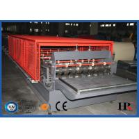 Buy cheap Hydraulic decoiler Metal Deck Roll Forming Machine High Speed 10-12m/min from wholesalers