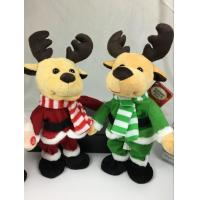 Buy cheap Lovely Dancing Music Plush Toys , Christmas Electronic Stuffed Animals from wholesalers