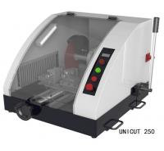 Buy cheap FEMA Ductile Iron Casting Base  Manual Metallographic Cutting Machine  UniCut 250 from wholesalers