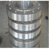 Buy cheap ISO9001 40 - 500mm Wall Thickness Carbon Steel Forged Steel Flange for tyre moulds from wholesalers