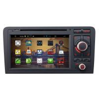 Buy cheap 7 inch android car DVD player for Audi A3 with gps+touch digital screen+steering wheel control from wholesalers