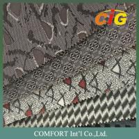 Buy cheap 100% Polyester Auto upholstery Fabric for cars Seat 140 ~ 160CM from wholesalers